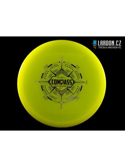 Compas žlutozelený
