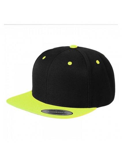 flexfit snapback neon cerna