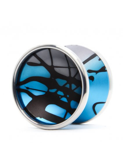 yoyo yoyofactory bimetal blue splash modra