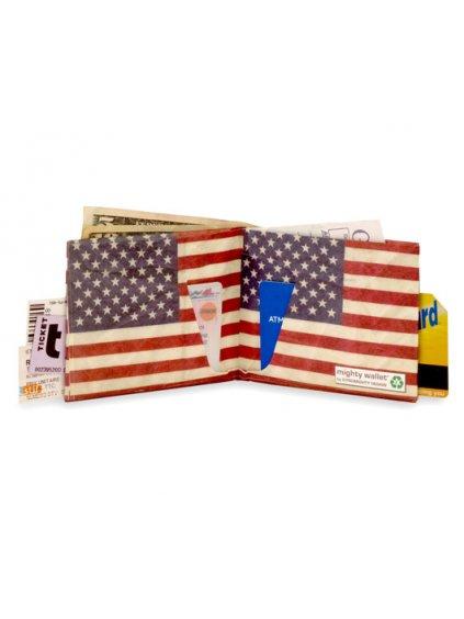 Papírová peněženka - Stars and Stripes (USA)