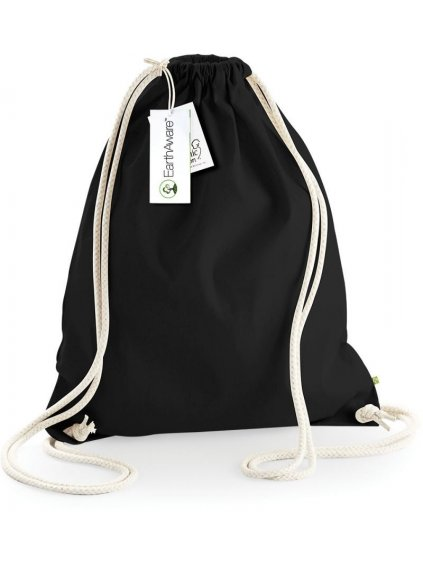 Bavlněný vak Premium W810 (gymsack)  BIO