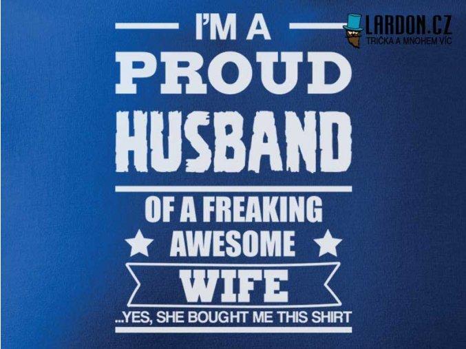 proud husband motiv nahled