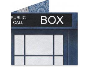 Papírová peněženka - Police Box