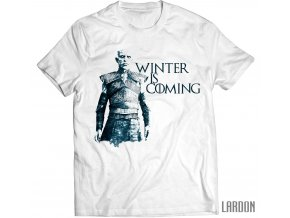 winter is coming bílé game of hrones night king pánské