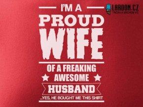 proud wife motiv nahled