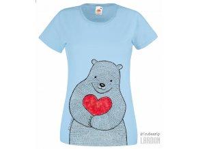 Dámské tričko Medvěd