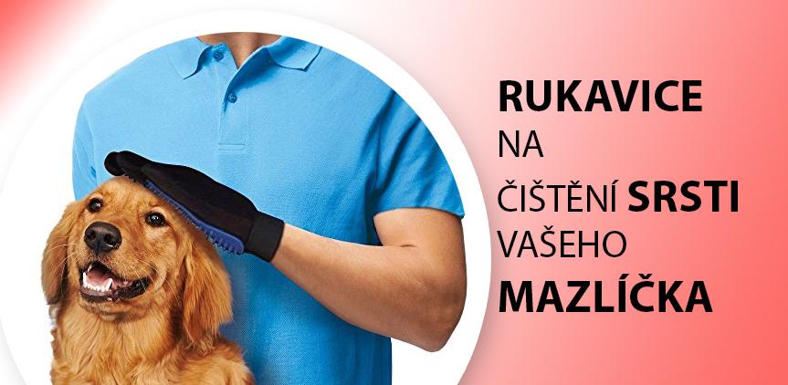 rukavice na vyčesávání vašich mazlíčků