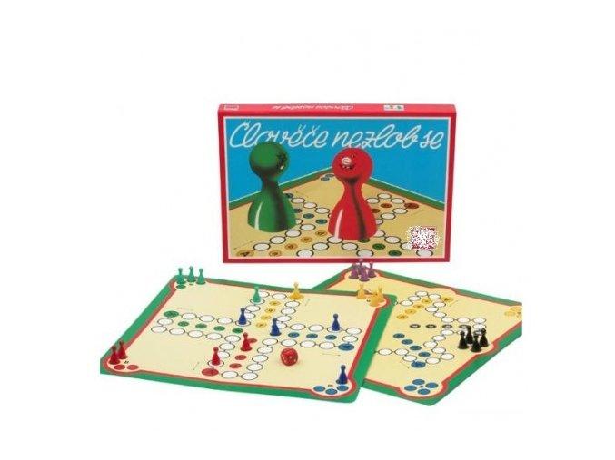 Stolní hra ČLOVĚČE NEZLOB SE