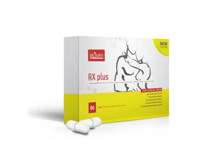 RX plus 60 kapslí - pro lepší sexuální výkon
