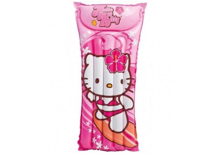 Nafukovací lehátko do vody Hello Kitty