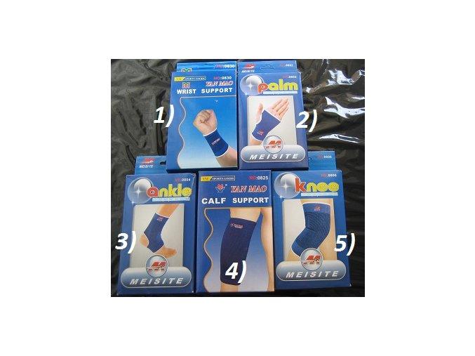 Elastická bandáž - zápěstí, koleno, aj.