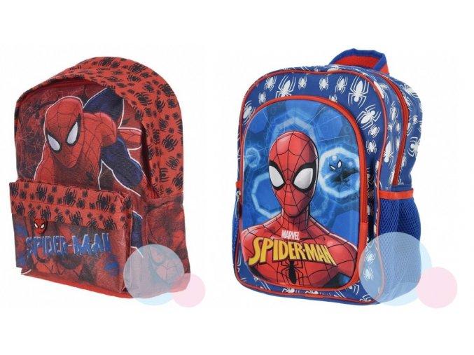 batoh spiderman cerveny