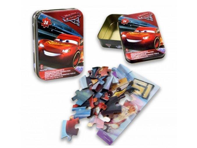 cars puzzle krabicka