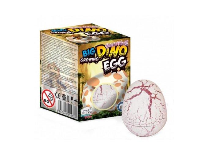 big dino growing egg rostouci vajicko s cukrovinkou