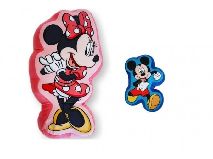 tvarovany 3d polstar minnie mouse disney