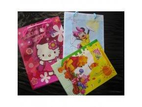 Dárková taška Hello Kitty, Minnie, Pú