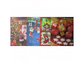 Vánoční dárková taška