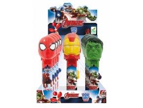 Lízátko Avengers - Spiderman, Ironman, Hulk