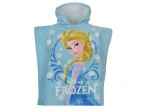 Dětské pončo Frozen - Elsa