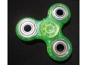 trpytky zeleny spinner