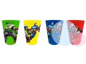 plastove sklenicky avengers