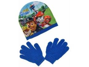 cepice paw modra