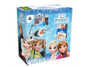 frozen ceramic mug surprisecookies gift set