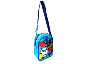 Taška přes rameno ZAJÍČEK BING a Pando chlapecká modrá