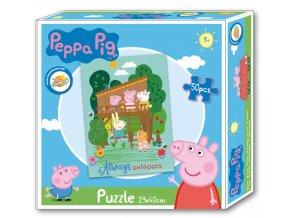 Puzzle PEPPA PIG chaloupka 50dílků