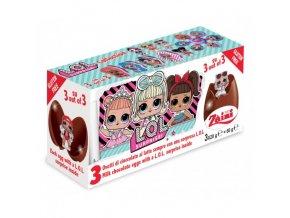 lol chocolate egg 3x20g