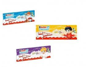 Kinder Chocolate 150g, Kinder tyčinky vánoční