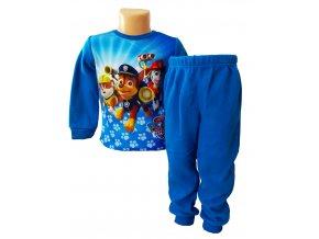 Zimní chlapecké flísové pyžamo Tlapková Patrola, vel. 104-128cm