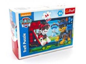 puzzle 54 mini psia misja 4 trefl