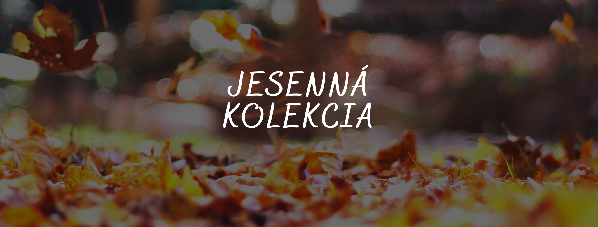 jesenna kolekcia