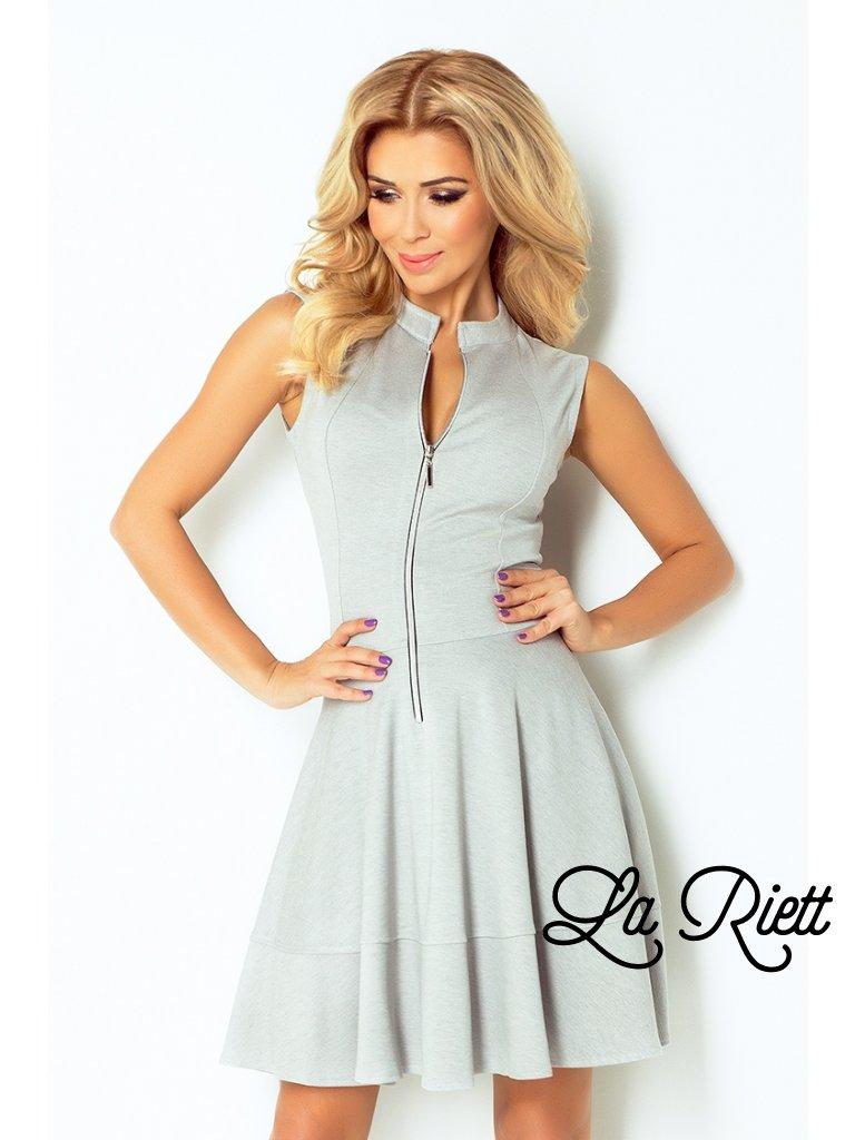 dress - Light gray 123-6 (Veľkosť XXL)