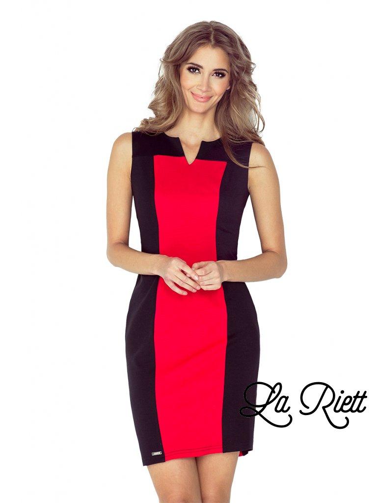 Dvojfarebné šaty MM 006-1