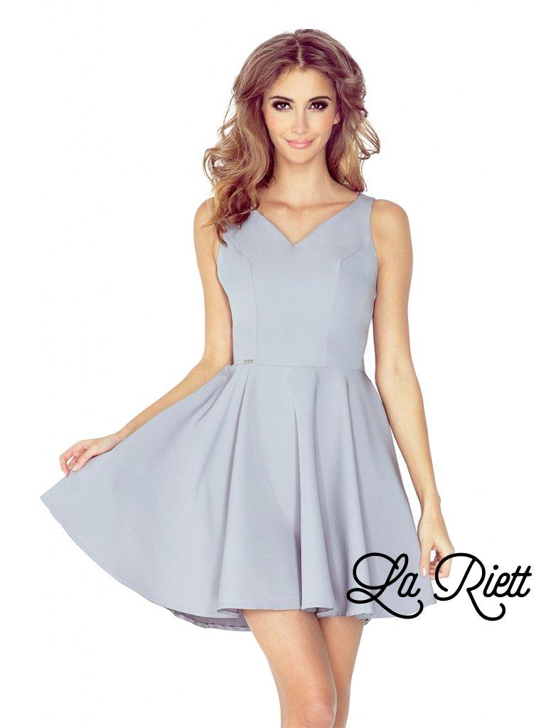 Šaty šedé 014-3