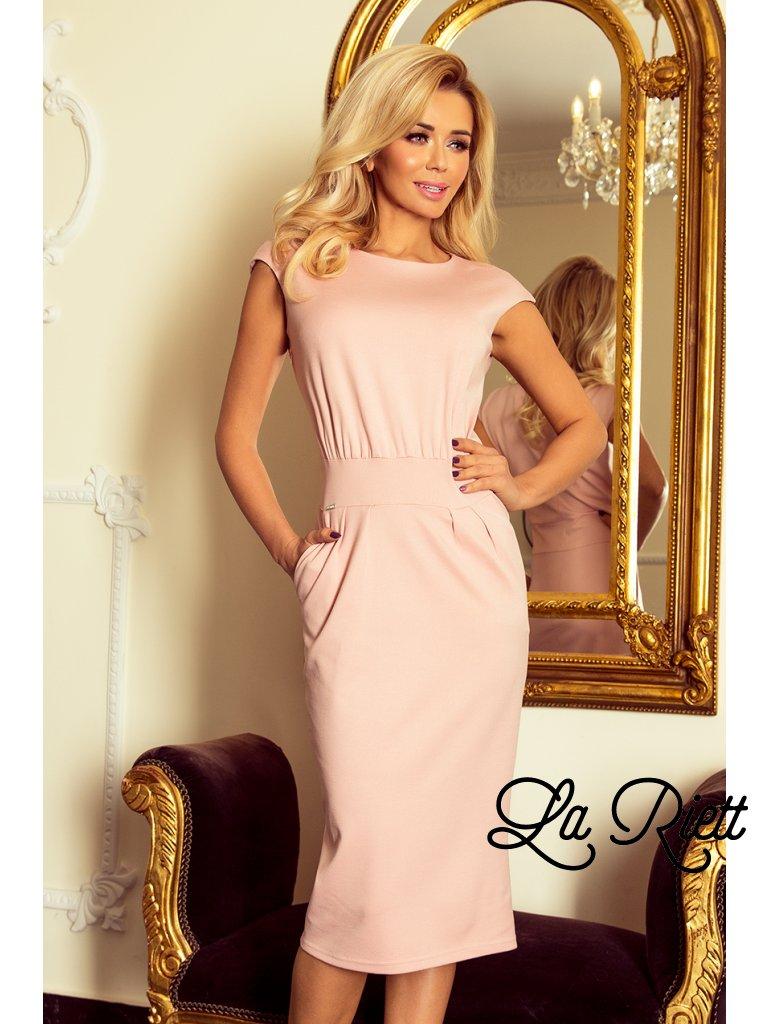 Šaty SARA - pastelovo ružová 144-6