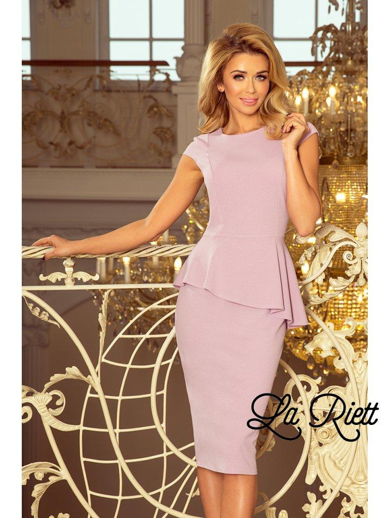 Elegantné šaty s volánikom 192-2