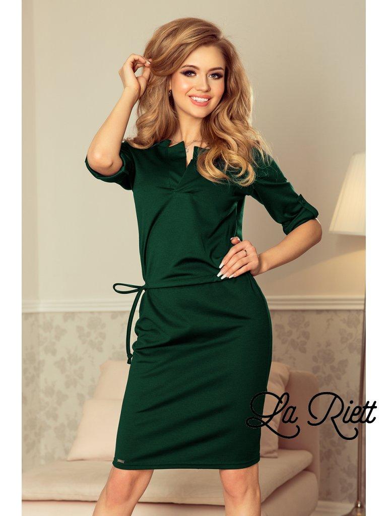 Elegantné šaty green 161-12