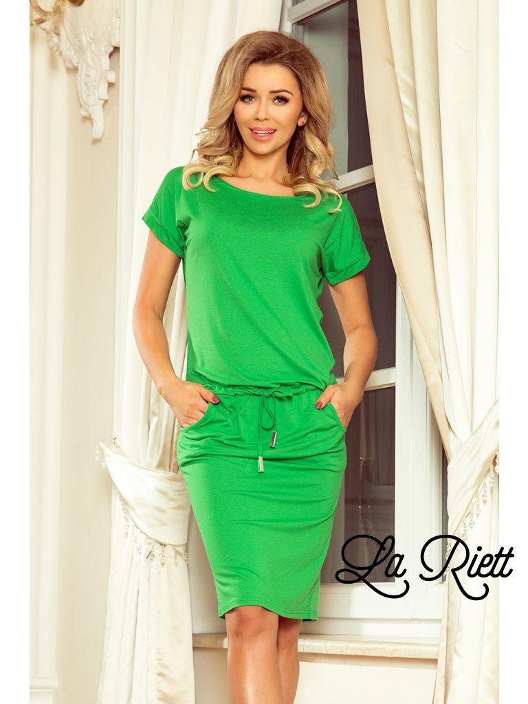 Športové šaty s vreckami green 56-6