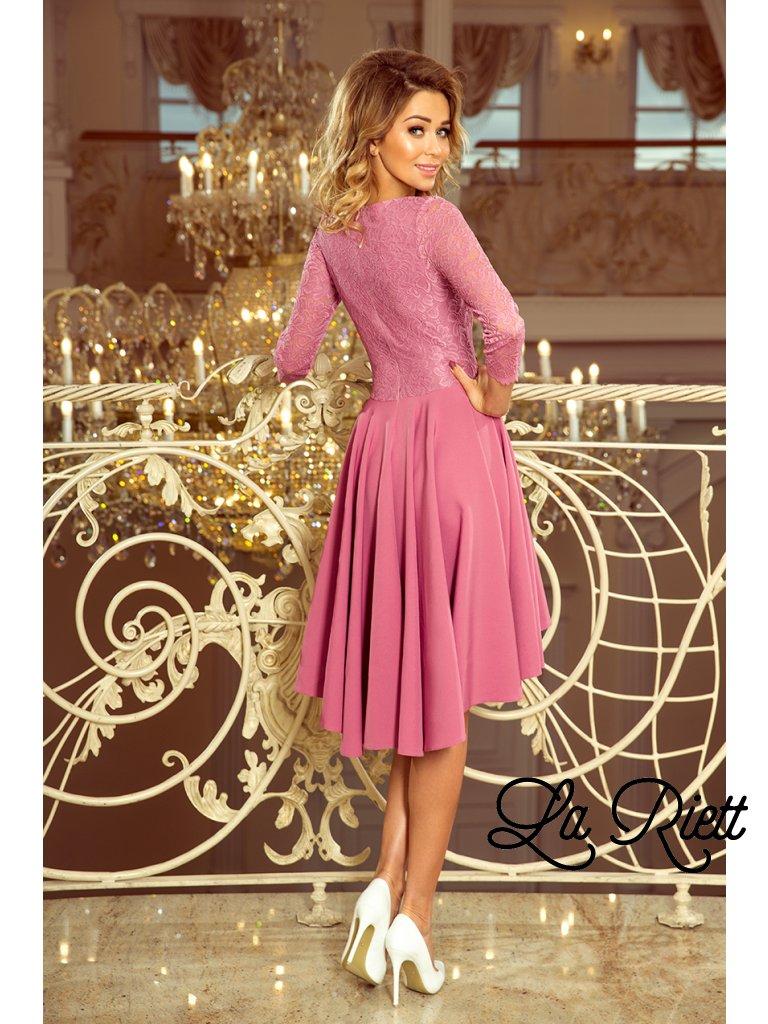Asymetrické šaty purple 231-2