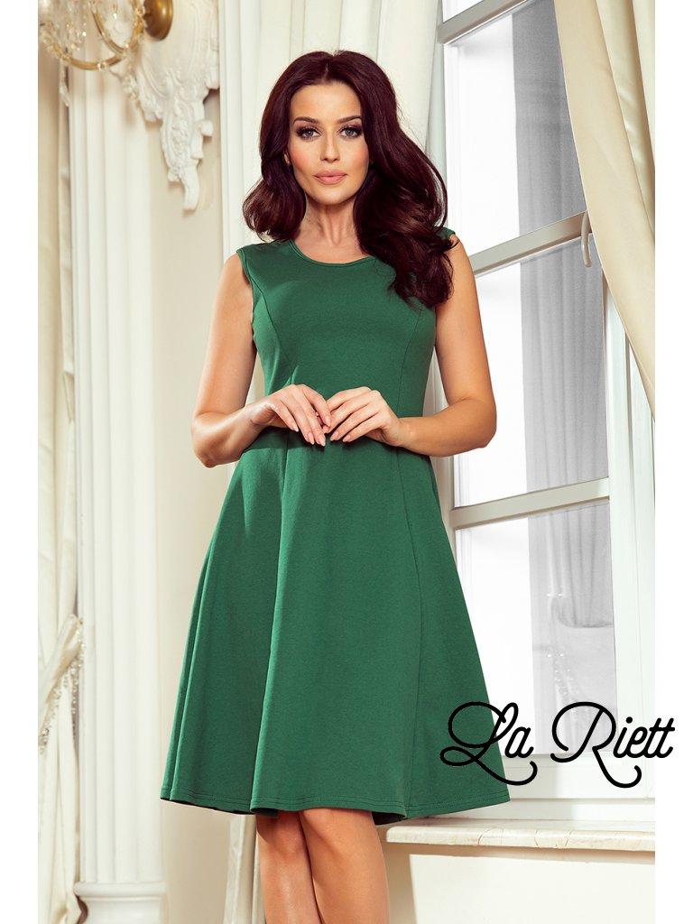 Zelené šaty 239-1
