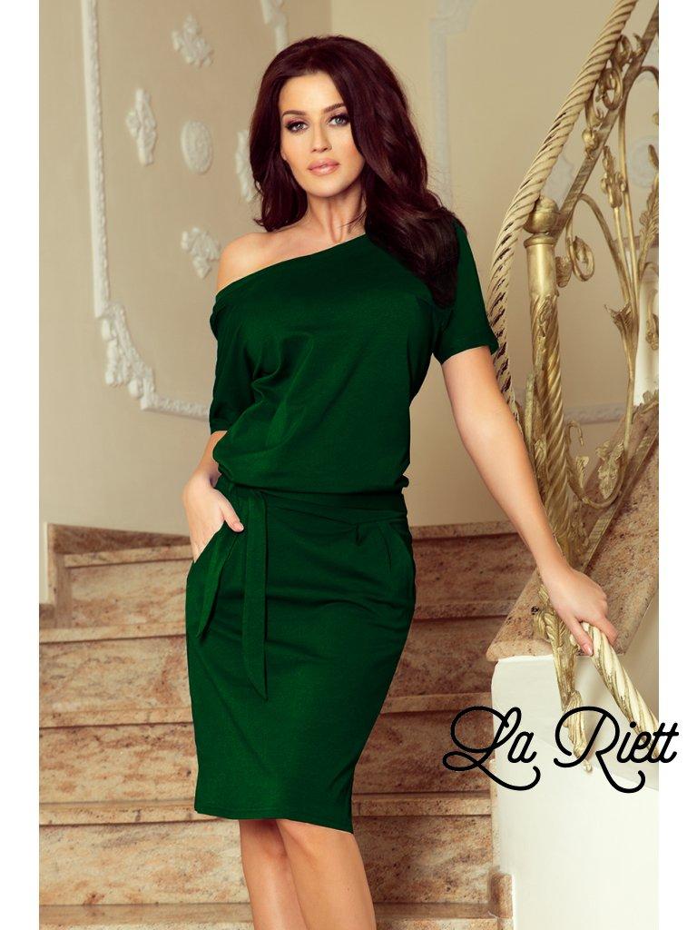 Elegantné šaty zelené CASSIE 249-2