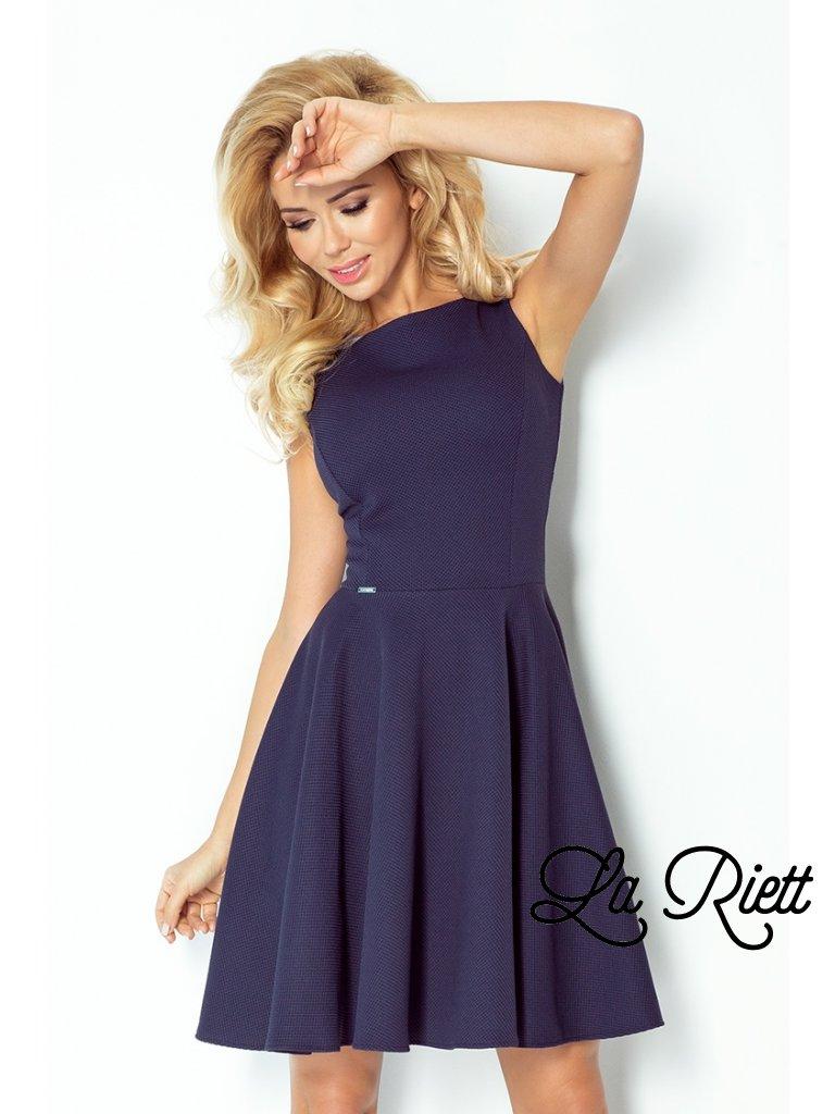 dress - navy blue 98-1 (Veľkosť XL)