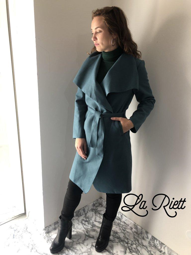 FLaušový kabátik Bil