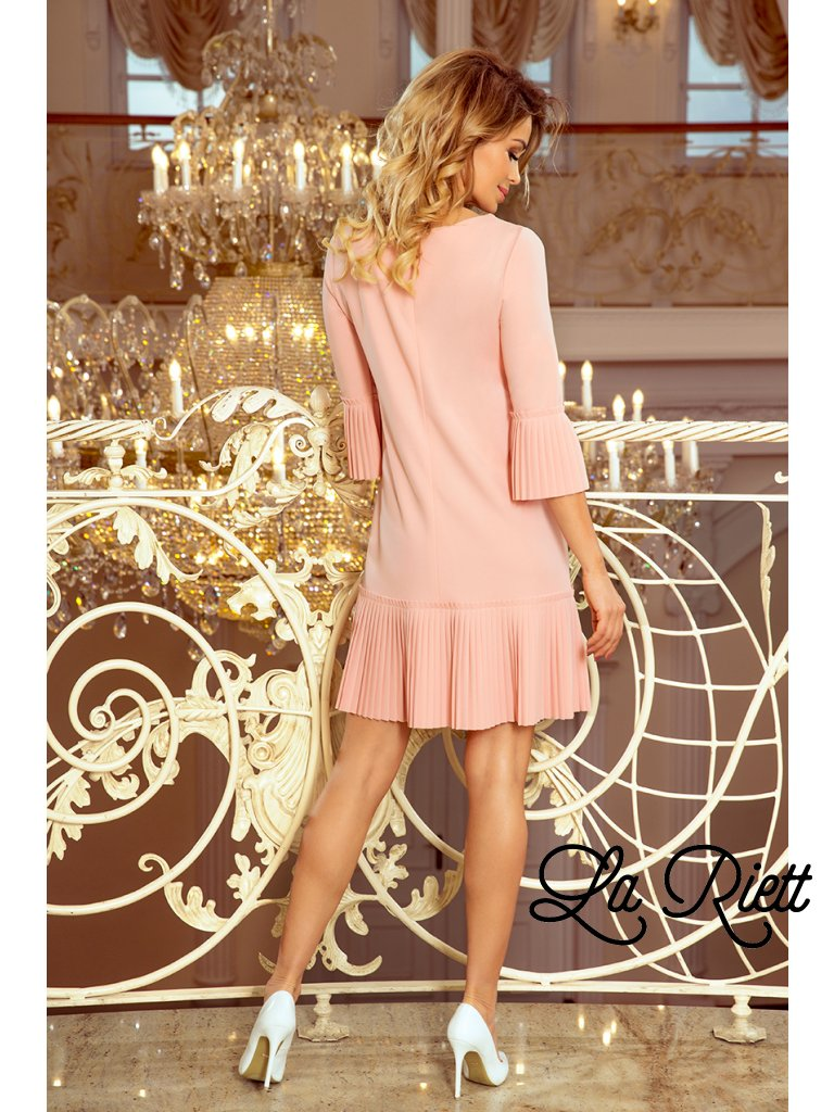 Marhulové šaty LUCY 228-1
