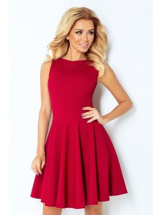 dress - dark red 125-1 (Veľkosť XL)