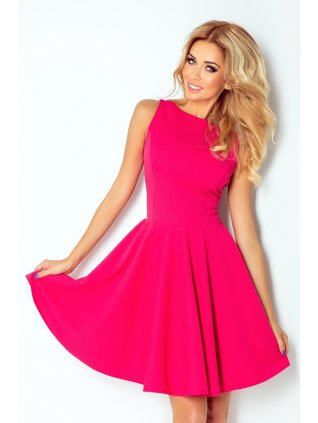 dress - pink 125-3 (Veľkosť XL)