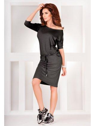 Sporty dress - Gray 13-3A (Veľkosť M)